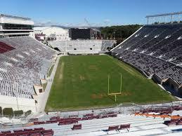 Lane Stadium Interactive Seating Chart Lane Stadium View From South Endzone 507 Vivid Seats
