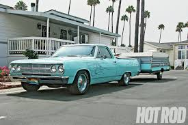 chevy el camino overheating fix hot rod network cool dude dunk loves to hit socal beaches in his 65 el camino camp