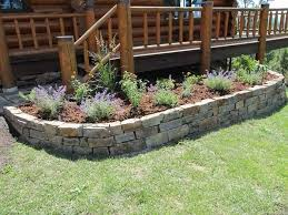 Small Picture stone raised garden bed designs raised flower beds stone