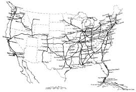 1 map showing the submarine cables and some of the important toll routes in the united states and cuba