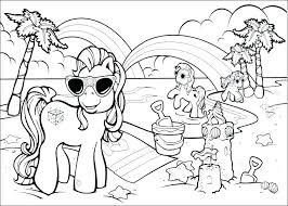 Beach Coloring Pages Coloring Pages
