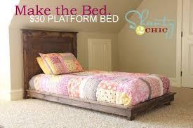 DIY Twin Platform Bed | boys room | Diy platform bed, Diy bed, Bed