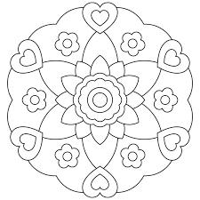 Free Printable Mandalas For Kids Coloring Mandalas For Kids