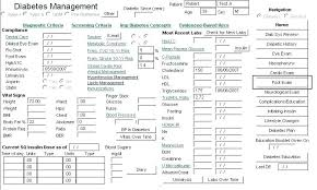 Care Plan Template Diabetes Care Plan Template Awesome Plans