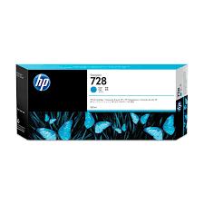 <b>HP 728</b> 300 ml <b>Cyan DesignJet</b> Ink Cartridge, Original, <b>Cyan</b>, <b>HP</b> ...