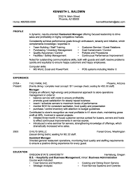 Bar Manager Job Description Resume Resume Bar Manager Sample Home