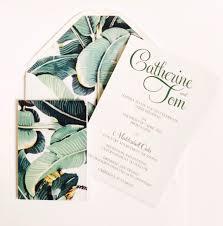 Amoretti Designs Tropical Wedding Invitation