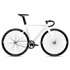 Mataro Fixie Single Speed Bike White