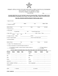 Purchase Nc Fill Pdffiller Fillable Fillable Permit Printable Blank Online Application Pistol -