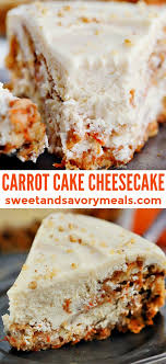 Carrot Cake Cheesecake Recipe Video Sweet And Savory Meals