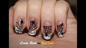 Nail Art Spider Web Design Nail Design Spider On Web Nail Art Pen Home Made Decals