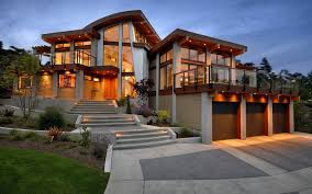 Stunning Architectural Of A Modern Concrete House Design With - Architect home design