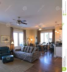 Open Floor Plan Living Room Open Living Room And Dining Room Stock Images Image 2066564