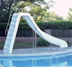 Perfect Diy Above Ground Pool Slide Swimming Slides A And Simple Ideas