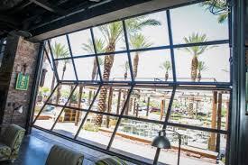 Innovation Folding Glass Garage Doors Sstii Bifold A Inside Modern Design