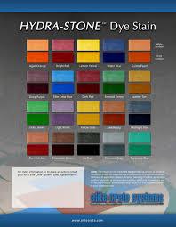 Texas Concrete Design Color Charts