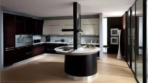 beautiful dark kitchens. Beautiful Elegant Dark Kitchens Design Idea : Modern Rosewood Cupboard Oval Island