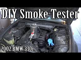 diy smoke machine for vacuum or evap leaks e46 p0171 p0174