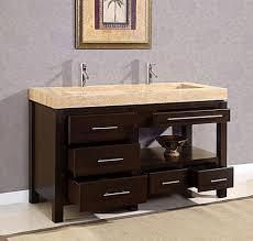 54 Bathroom Vanity Cabinet Smallest Double Sink Vanity Top Globorank