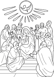 Small Picture Holy Spirit Coloring Pages Catholic Coloring Pages Ideas