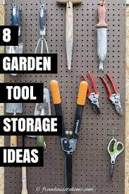 8 easy and inexpensive diy garden tool