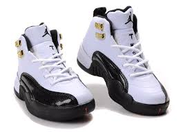 jordan shoes for girls 2014 black and white. children air jordan 12 black white shoes for girls 2014 and