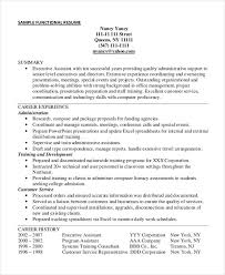 functional executive resume 25 free executive resume templates pdf doc free premium