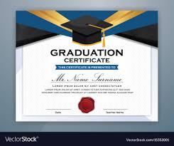 High School Diploma Certificate Template Design