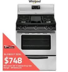 ranges for sale. Halton Favourite ApplianceHouse Has The Best Deals On Whirlpool Gas Ranges For Sale W