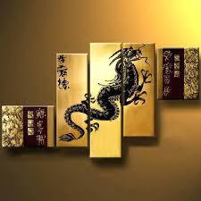 chinese wall decoration dragon wall art canvas chinese wall decor wood chinese wall decoration
