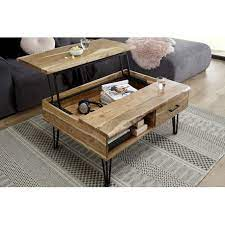 mustique coffee table in acacia wood