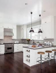 kitchen peninsula lighting. 15 Kitchen Peninsula Lighting Ideas Baytownkitchen To Grey Dining Table Concept G