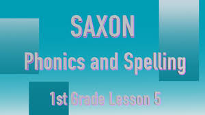 The worksheets start with three to five words that a student already knows and uses those to emphasize a single phonics concept. Saxon Phonics And Spelling Grade 1 Lesson 5 Youtube