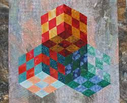 Quilt Show at Lake Metroparks Farmpark - Works From Quilters ... & Patchwork Illusions by Karen Combs Adamdwight.com