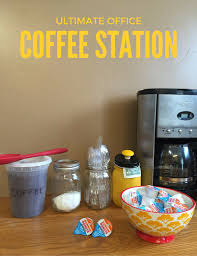 office coffee station. Office Coffee Station T