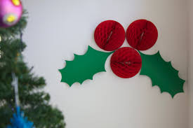 Christmas Decorations For The Wall Christmas Wall Decorations Home Design Ideas
