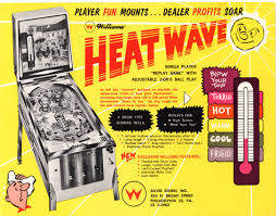 bow street flyers the arcade flyer archive pinball machine flyers heat wave