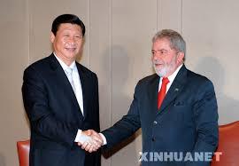 Resultado de imagem para china e lula