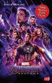 Marvel Avengers – Endgame: Das Buch zum Film ab 10 Jahren Die Marvel-Filmbuch-Reihe,  Band 1: Amazon.de: Behling, Steve, Fricke, Kerstin: Bücher