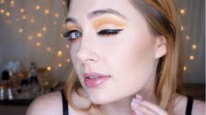 SUNSHINE CUT CREASE   Priscilla Tucker - YouTube