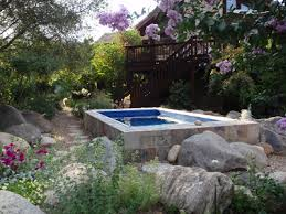 Natural looking in ground pools Residential An Endless Pools Swimming Machine Installed Outdoors And Partially Inground Natural Swimming Pools Natural Pools Endless Pools