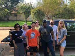 """Wesley Hunt on Twitter: """"Another great day of block walking here in #TX07… """""""