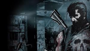 skulls black guns ics blood punisher wallpaper