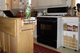 Rolling Kitchen Island Rolling Kitchen Cabinet With Tray Top Shelfgenie Sliding Drawers