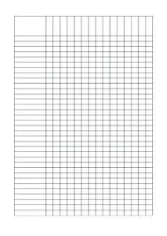 Blank Student Checklist Template Sample Documents Download