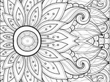 Flower Adult Coloring Pages Adult Coloring Pages Flowers 2 2 Adult