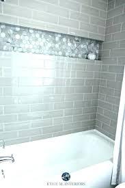 bathroom shower wall ideas bathtub surround tile with and gray subway tub surroun