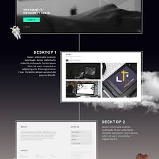 Download free photoshop mockup templates to present your creative work in different perspective styles. Free Vertical Website Presentation Mockup Freebies Fribly Web Template Design Free Graphic Design Web Design