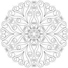 Free Printable Mandalas Coloring Pages Adults Luxury Photos Mandala