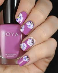 Bright Flower Nail Art Design Tutorial 25 Flower Nail Art Design Ideas Easy Floral Manicures For